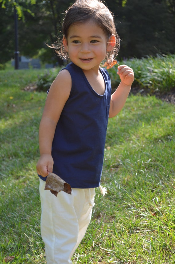 Unisex Tank Top - Back To School Clothes - Organic Cotton Shirt - Toddler Clothes - Summer Clothes for Child- Kid's Clothing