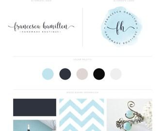 Watercolor Branding Kit, Premade Branding Package, Blog Branding Kit, Logo Package, Mini Branding Kit, Branding Package, brand package, Logo