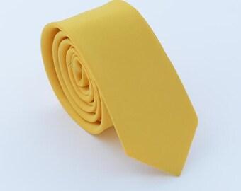 """Yellow Ties.Men Silk Ties.YellowNeckties for Men.Wedding Ties. 3"""" Neckties."""