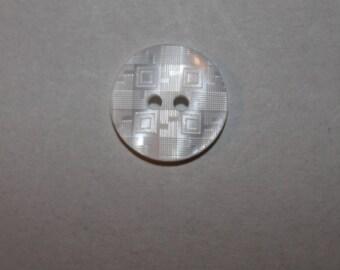 button, round, white, transparent, fantasy, two holes