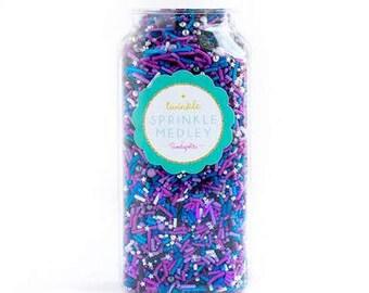 Sweetapolita Galaxy Twinkle Sprinkle Mix 8 oz