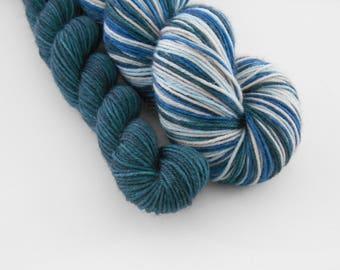 LOVE SOCK self-striping, 040, merino nylon sock yarn,100g
