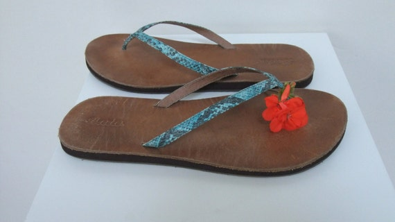 Leather Slip Style Thongs Toe Turquoise Chic Sandals Casual On Sandals Bridal Sandals Beach Teal Flops Flip Bohemian Boho Disco 5xwSq1pKA