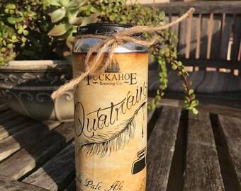 CANdles craft Beer Cans - Quatrain - Tuckahoe Brewing