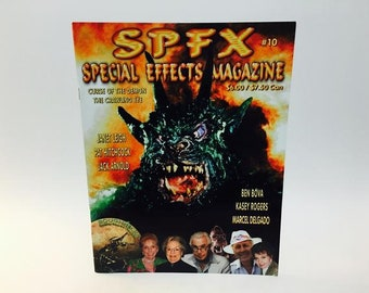 Vintage Magazine SPFX Magazine #10 Curse of the Demon The Crawling Eye
