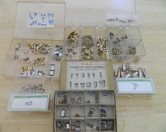 Vintage Jewelry Catches, Links and Clasps