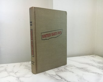 1984 by George Orwell (First Edition / 1949)