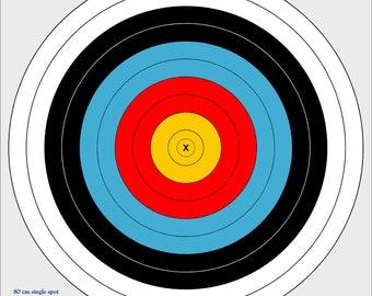 80cm outdoor archery target, vinyl archery target