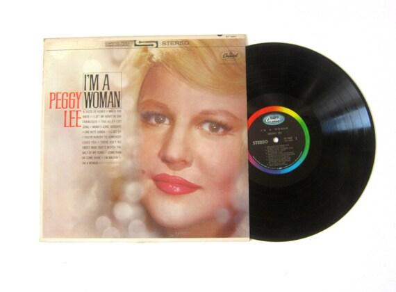 Peggy Lee I'm a Woman Vinyl Record Album 12 Inch LP Vintage Music Capital Record Album