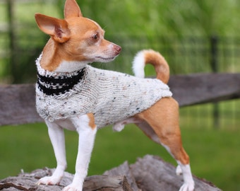 That's My Boy Collection * Chihuahua sweater * Chihuahua clothing * Hand knitted chihuahua sweater * Chihuahua gift * Clothes for chihuahua
