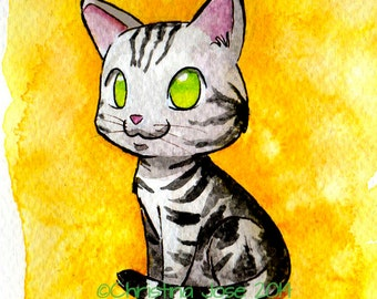 American Shorthair Mini Print