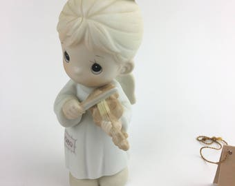 Vintage Precious Moments Oh Holy Night Special 1989 Issue Minature Ornament 522848