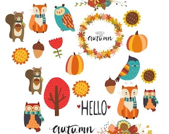 Hello Autumn Ephemera/ Bits and Pieces