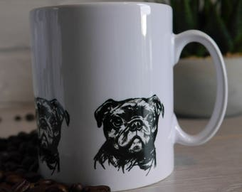 Pug Mug, Pug, Mug, Pug Lovers, Gifts For Pug Lovers, Pug Gifts, Dogs,Birthday Gift, Thank You Gift, Gift, Gifts for Dog Lovers, Pugs,