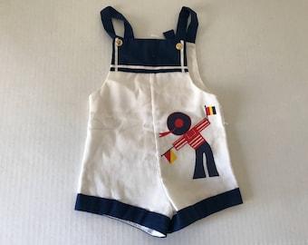 Vintage baby overalls