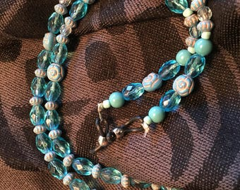 Eyeglass Lanyard in Blues