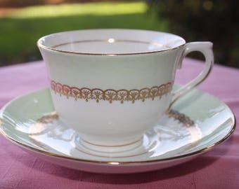 Coldough Teacup and Saucer