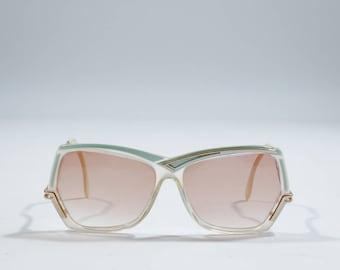 VINTAGE - Metal sunglasses