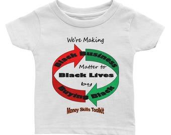 Infant bbdp short sleeve tee