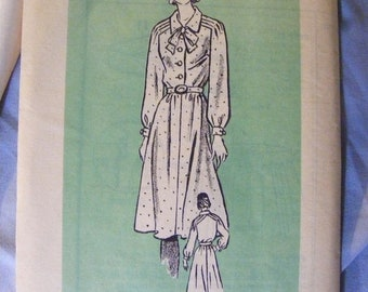 """51% OFF 1970's Vintage Misses' Long Sleeve Dress Uncut Anne Adams Mail Order Sewing Pattern 4689 Size 16 Bust 38"""""""