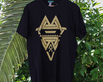 Goldkeeper Geometric Art Shirt