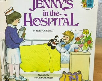 Jenny's in the Hospital Golden Books - Seymour V. Reit