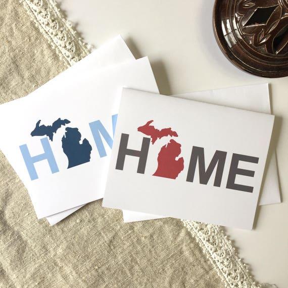 Michigan home decor michigan love michigan greeting card m4hsunfo Images