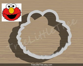 Elmo Cookie Cutter. Cartoon Cookie Cutter. 3D Printed. Baking Gifts. Custom Cookies.