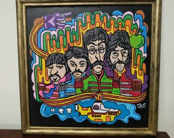 Yellow Submarine Frame