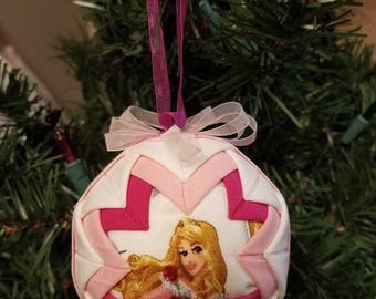 Disney Princess Aurora Quilted Ornament