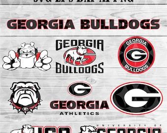 university of Georgia Bulldogs svg,team,logo,svg,png,eps,dxf,cricut,collegiate,ncaa,banner,shirt,decal,vinyl,football svg,Bulldogs svg