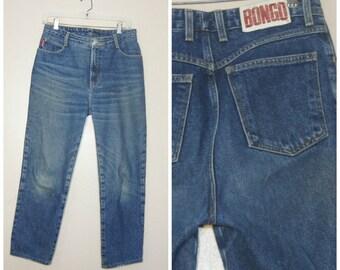 90s Bongo Jeans High Waisted Large 30 Waist Mom Jeans