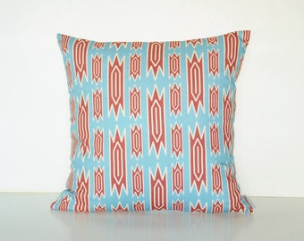 Tribal nursery throw pillow cover for a modern farmhouse nursery decor / Boho pillow cover / Tribal geometric / Pattern print pillow cover