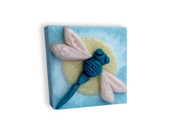 Decorative Dragonfly Soap || Hand Sculpted Soap Design || Housewarming, Get Well Soon, Birthday, Holiday, or Just For Fun Gift