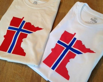 Norway Minnesota T Shirt