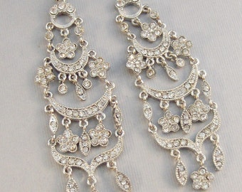 Gypsy Wedding,Earring,Diamond Earring,Crystal Earring,Boho Earring,Boho Wedding,Boho Style,Bohemain,Gypsy Earring,Diamond Jewelry