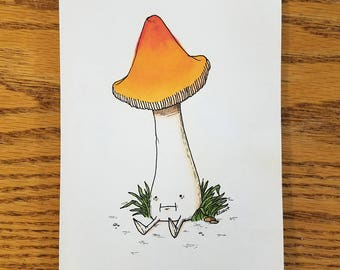 Witch's Hat — Original Drawing