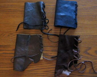 Large Costume Leather Bracer