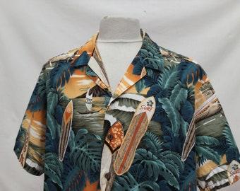 Hawaiian Beach Scene Shirt