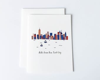NYC Card, New York City Card, New York Card