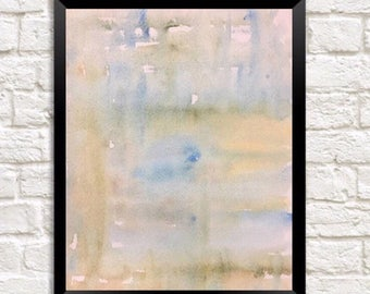 Neutral minimalist, Contemporary Painting, Abstract watercolor Print, Original Modern Art, Abstract print, Wall art print, muted colors