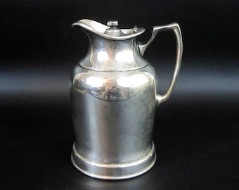 Vintage Wear-Brite Stainless Water Pitcher. Circa 1920's - 1930's.