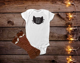 Funny Baby Onesies® Bodysuit, Funny Baby Clothes, Funny Girl Onesies®, Funny Boy Onesies® Bodysuit, Baby Girl Clothes, Cat Onesies® Bodysuit