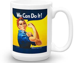 Rosie the Riveter Mug (Printed in the USA)