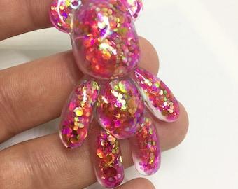 BEAR pink pin