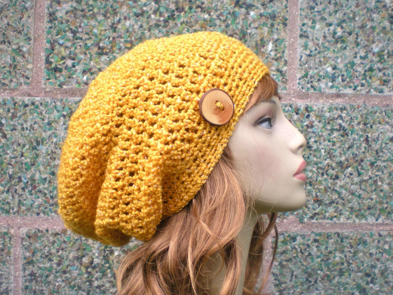 Pattern autumn slouch unisex slouchy beanie crochet hat p zoom bankloansurffo Gallery