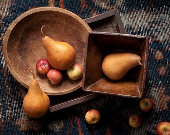 Pears and Apples with Chinese Boxes