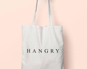 Hangry Tote Bag Long Handles TB1643