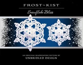Frost~Kist Beaded Snowflake pdf tutorial