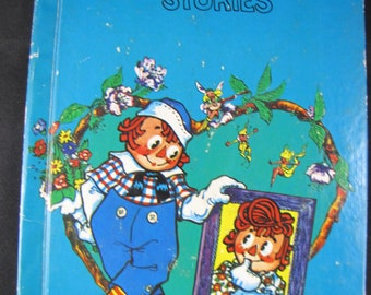 Raggedy Andy Stories // 1948 Hardback // Johnny Gruelle // Introduction of Raggedy Ann's brother // Children's Classic // Read-Aloud